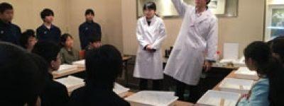 人工ルビー教室(高校生が教えます)